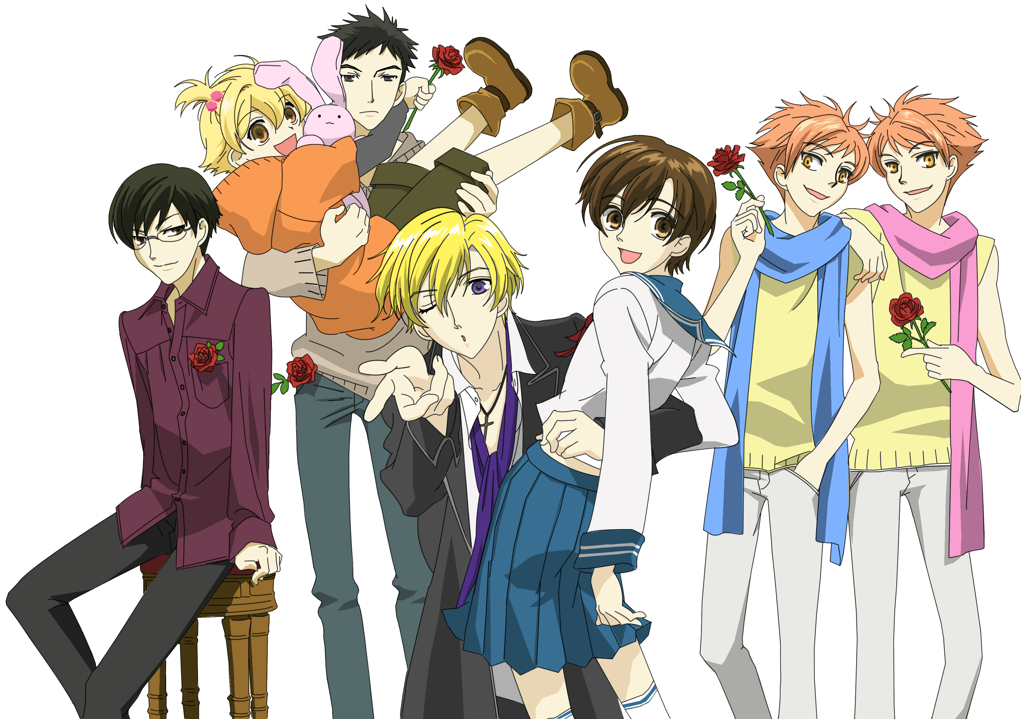 Ouran high school host club tv show