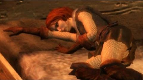 End of Prologue and Triss First Sex Scene (The Witcher) HD