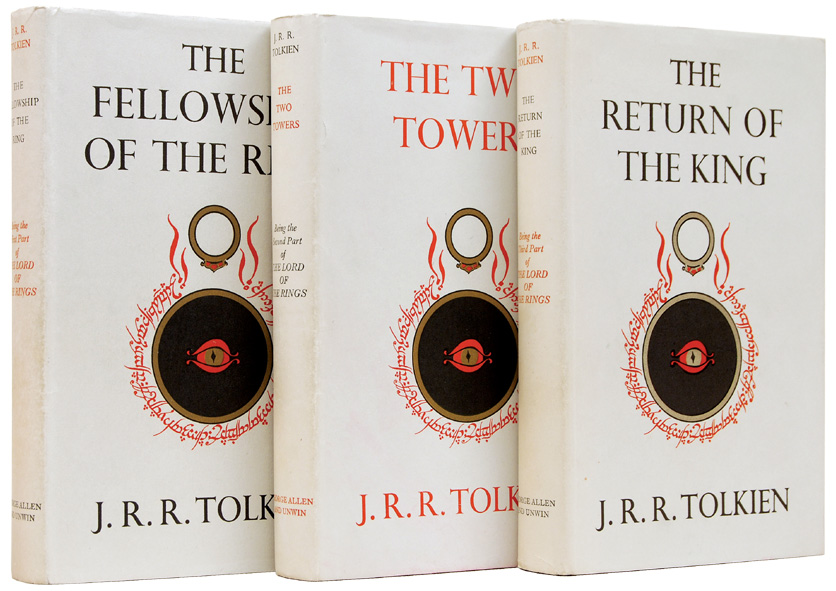 Lord Of The Rings Trilogy Books First Edition