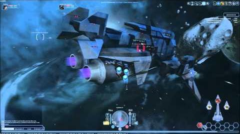 Battlestar Galactia Online Viper MK II PvE Solo Combat