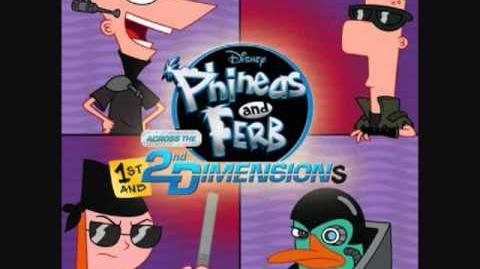 Phineas and ferb - Perry the platypus song extended version with lyrics!