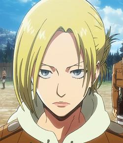 Shingeki no Kyojin. 250px-Annie_Leonhardt_anime
