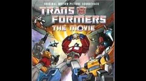 1986 Transformers The Movie Soundtrack Escape by Vince DiCola