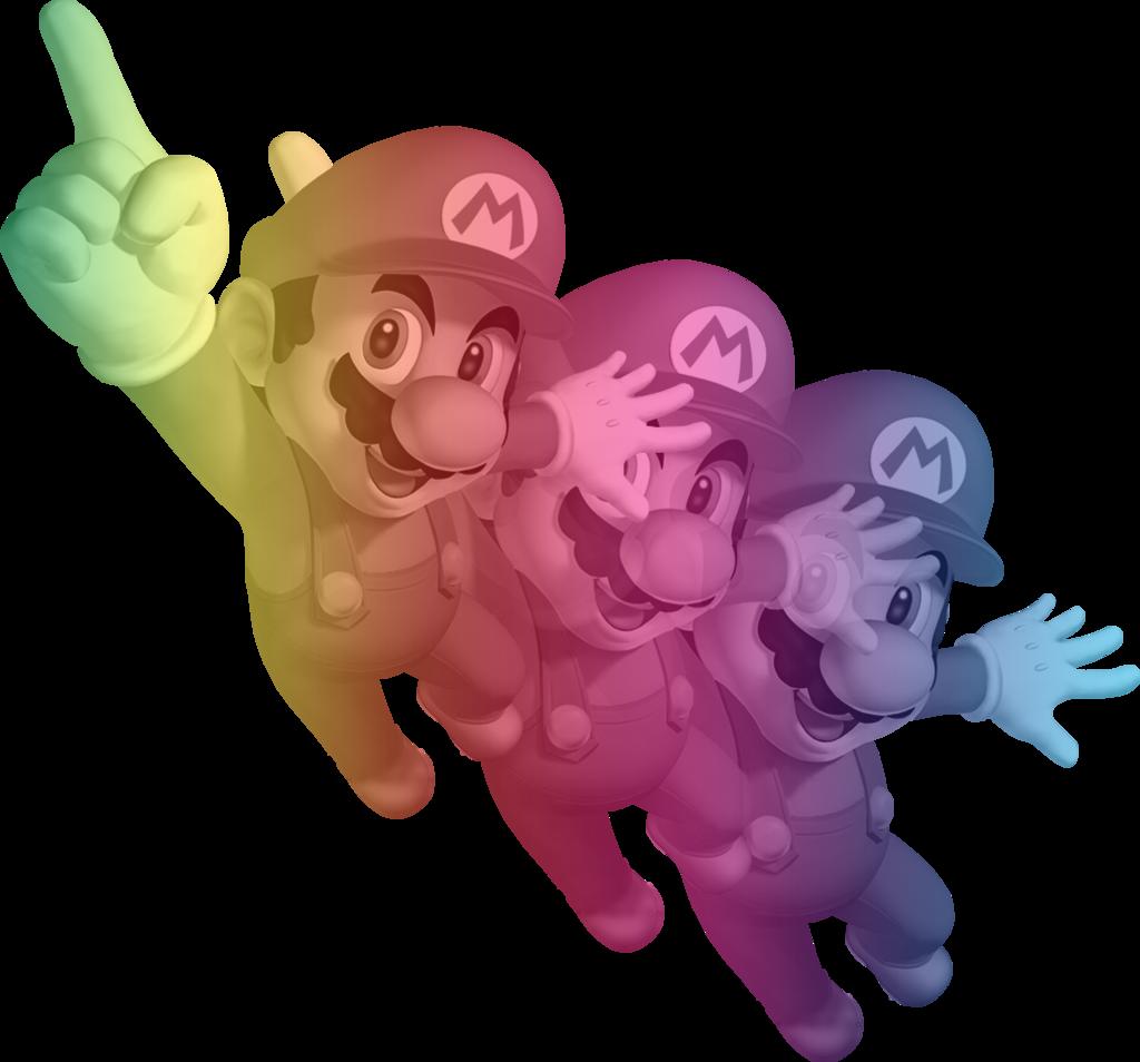 Rainbow Mario Images &...