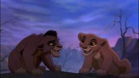 "Lion King II ""Simba's Pride"" -Kovu and Kiara"