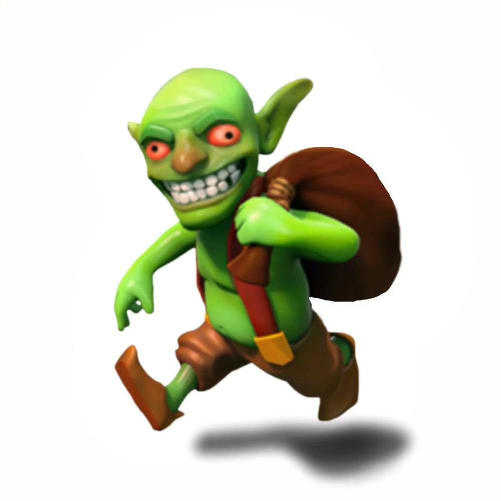 Healer Clash of Clans Drawing Goblin Clash of Clans Wiki