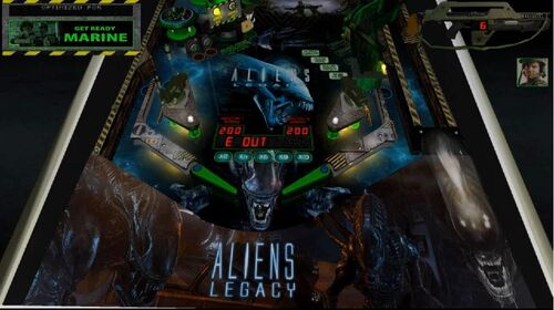 aliens pinball machine