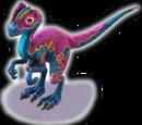 Pink Dilophosaurus