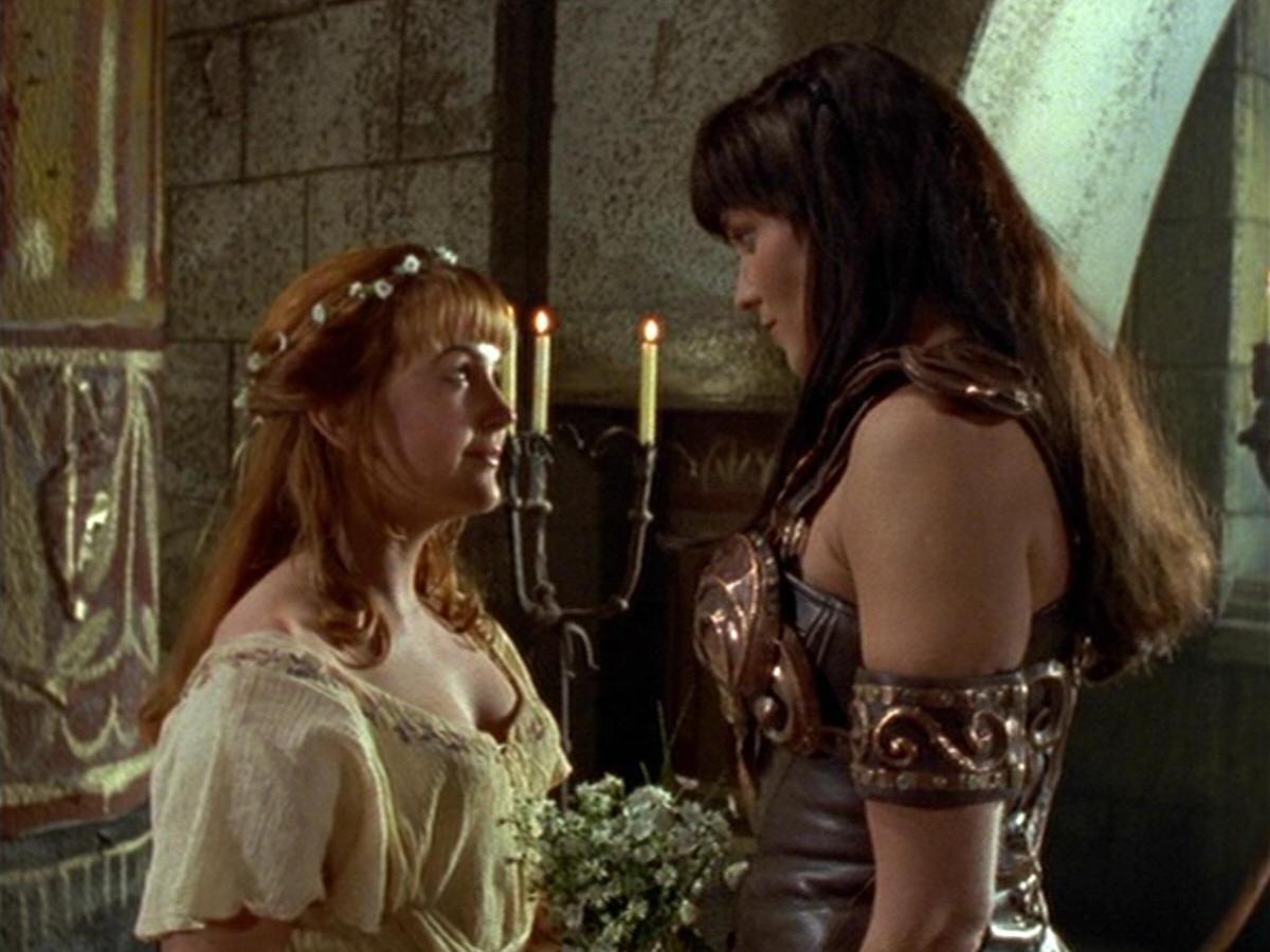 Callisto and xena gabrielle consider