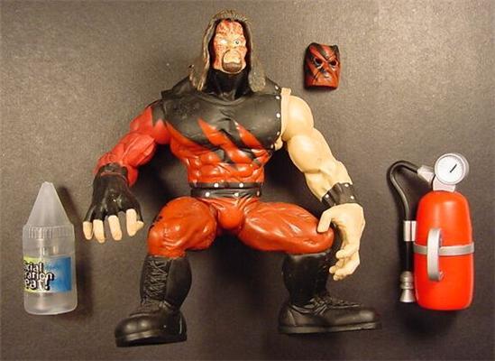 Kane  WWF Maximum Sweat 4 Kane Wwf