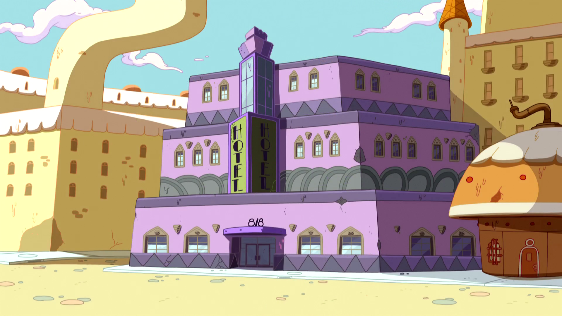 Coolest Hotel - The Adventure Time Wiki. Mathematical! John Dimaggio And Jeremy Shada