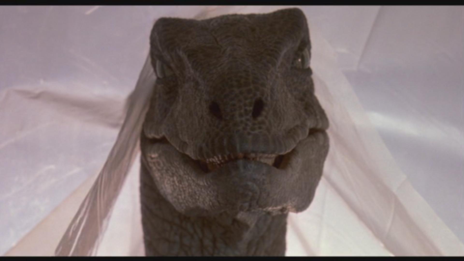 Lighting In Jurassic Park Raptors In The Kitchen