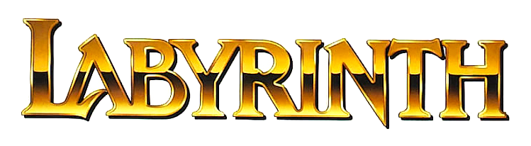 Image - Labyrinth Logo.png - Logopedia, the logo and ... Labyrinth 1986