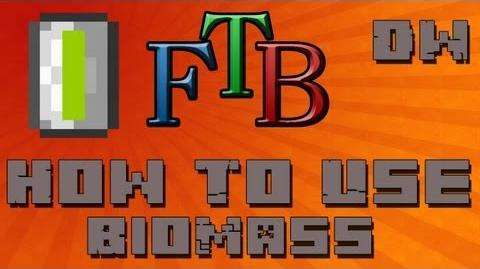 How To Use Biomass BioFuel Feed The Beast Tutorial - Ep. 4 (DuhWynning)-0