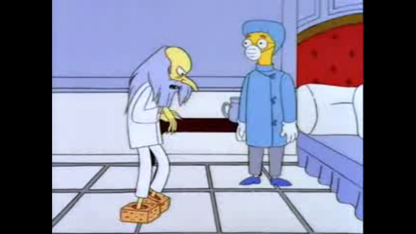 mr burns casino episode