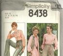 Simplicity 8438 A