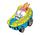 Banana Split (Trash Wheels)