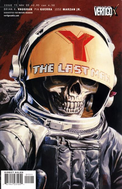 Y The Last Man Comic Book  TV Tropes