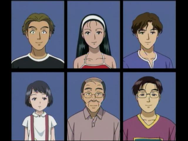 劍湖山 Wikipedia: 亡靈學校殺人事件(電視動畫版) 登場角色
