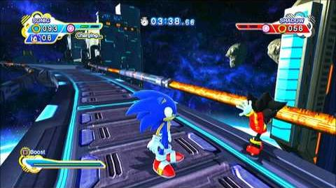 Sonic Generations (PS3) Shadow! Have you lost your mind!?! (vs. Shadow Glitch)