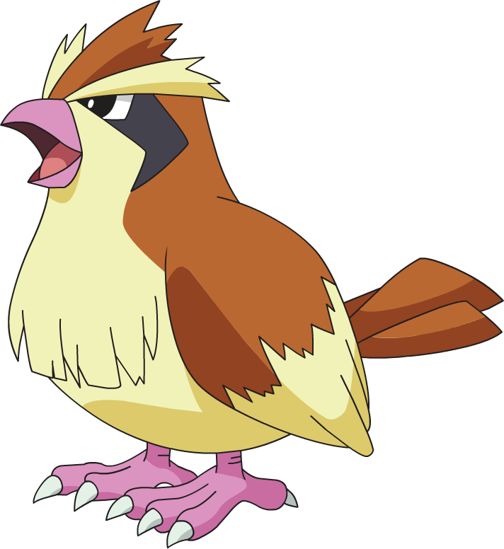 Pidgey on Pigeon Coloring Page