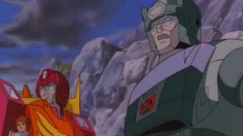 Transformers the Movie (1986) The Battle of Autobot City