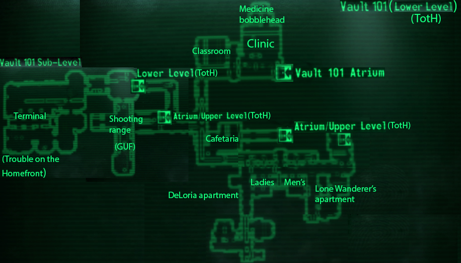 Vault 101 The Fallout Wiki Fallout New Vegas And More