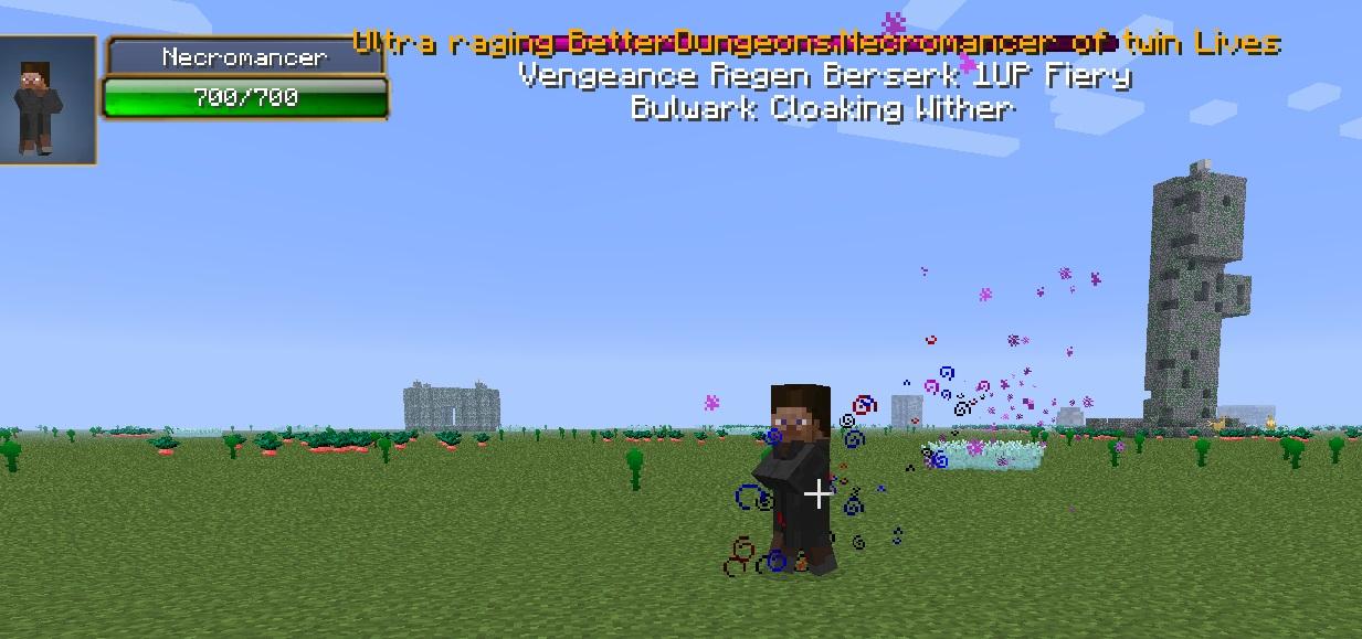 Minecraft Ender Sword Hexxit Infernal mobs - hexxit wiki