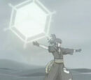 Elemento Cristal: Shuriken Hexagonal Gigante
