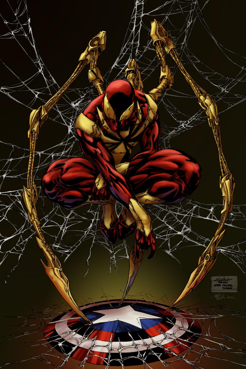 Iron Spider Armor - Iron Man Wiki