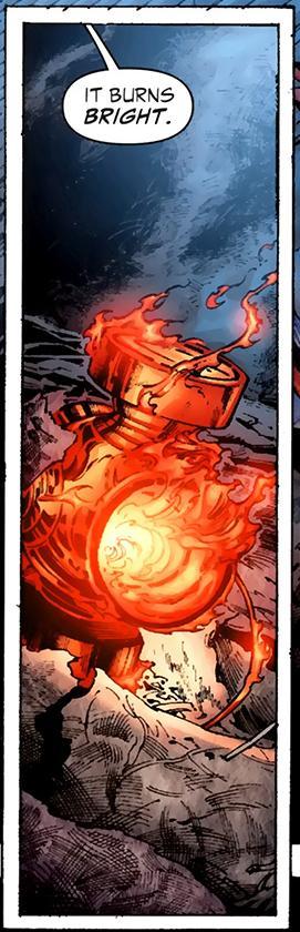 Orange Lantern Power Battery - DC Comics Database