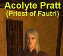 Acolyte Pratt