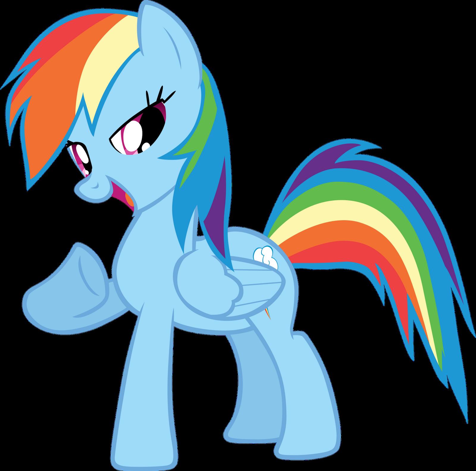 FileFANMADE proud Rainbow Rainbow Dash Mlp Vector