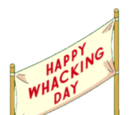 Whacking Day Banner