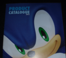 Sonic the Hedgehog 2013 Product Catalogue
