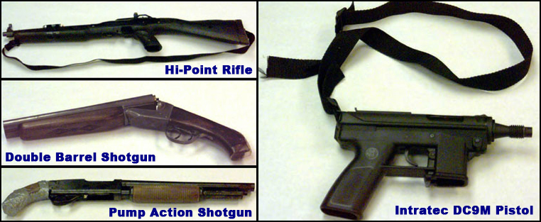 Dylan Klebold And Eric Harris Death Photos The firearms used by harris