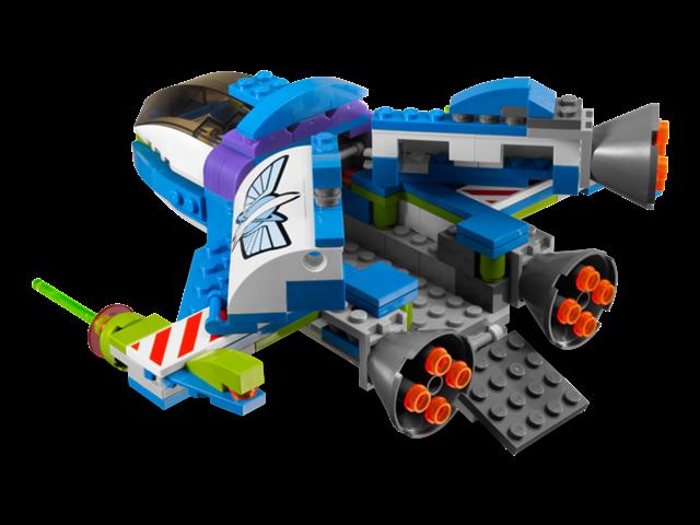 image 7593 le vaisseau spatial de buzz wiki lego. Black Bedroom Furniture Sets. Home Design Ideas