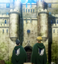 Eld and Gunther in front of the former HQ.png