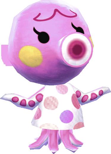Octopus (villager) - Animal Crossing Wiki