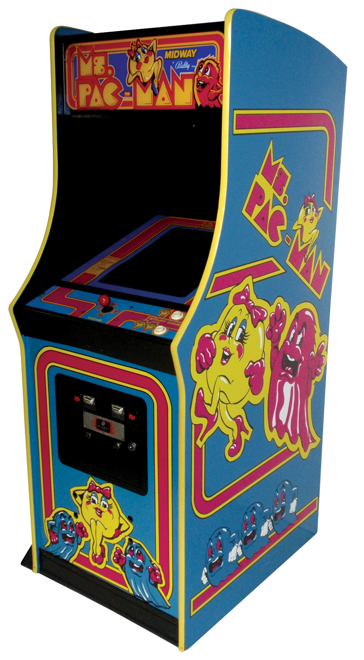 arcade machine dimensions