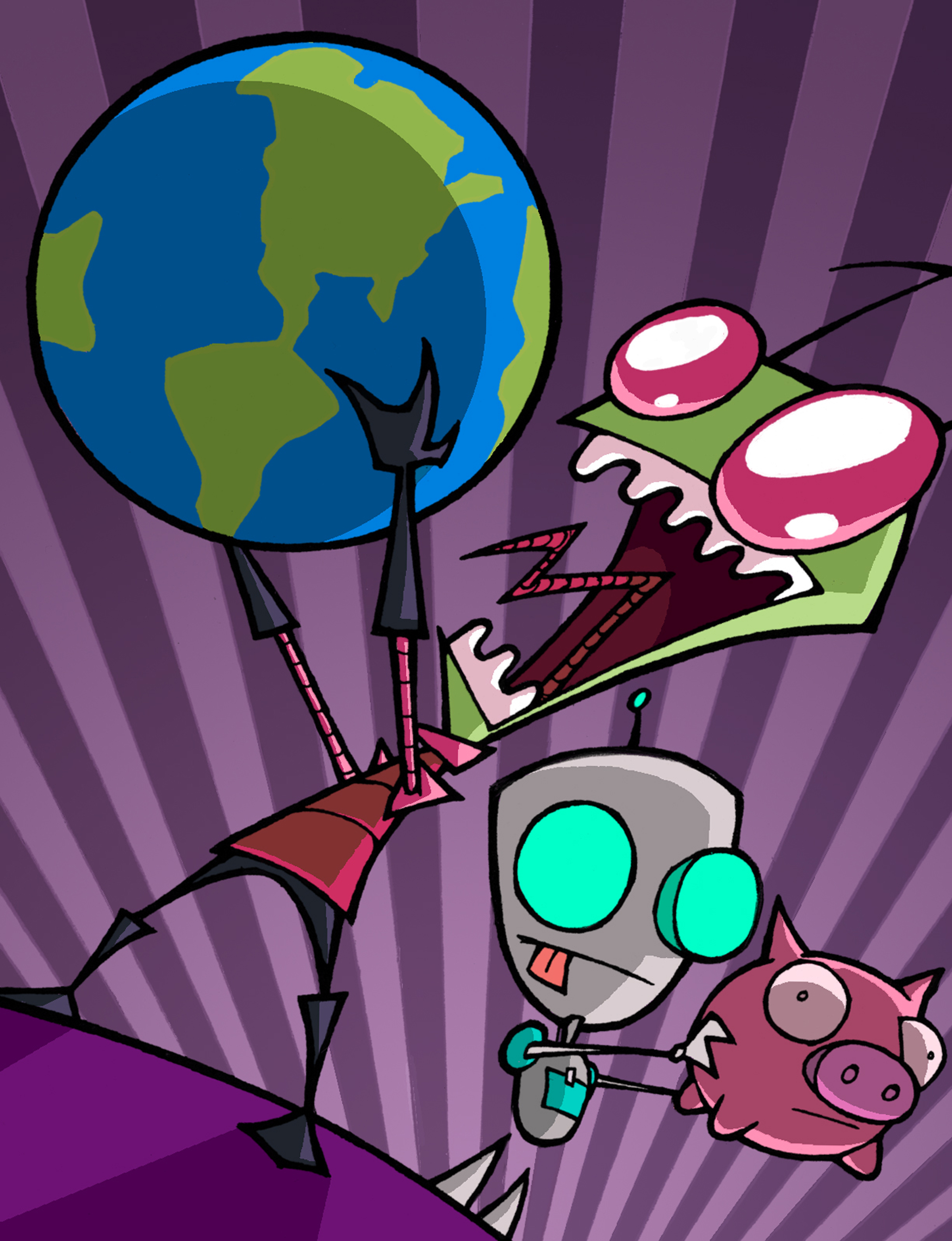 Invasor Zim Invader_Zim_and_GIR