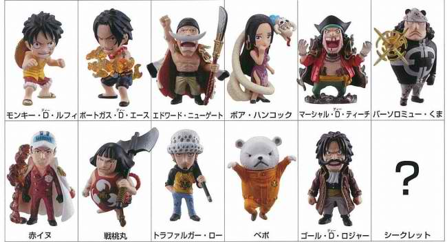 1 Piece Anime Characters : Image one piece collection change the world characters