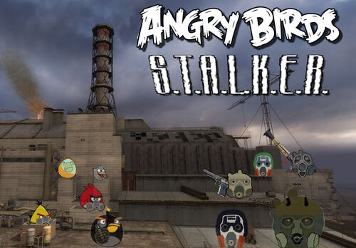 Angry Birds S.T.A.L.K.E.R.