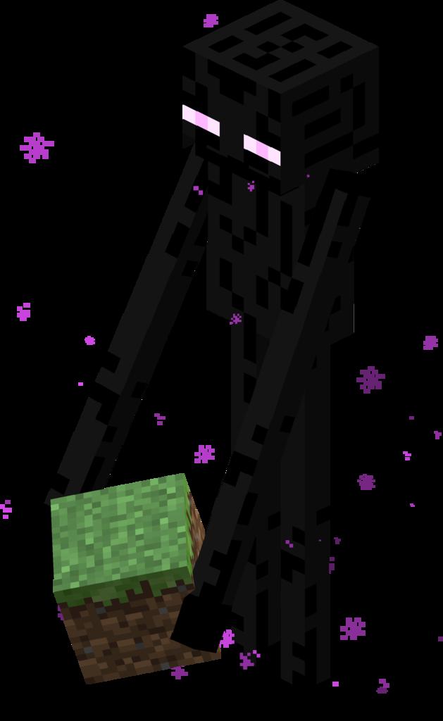 Minecraft. Guía sobre minecraft (Aún no completa). 106px-Endermansand