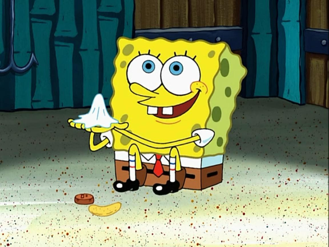 Spongebob Sitting Alone permalink