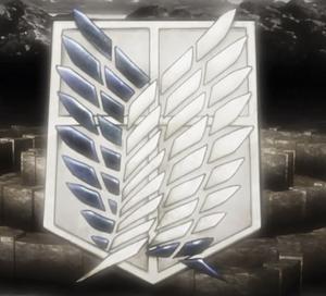 Shingeki no Kyojin. 300px-Legion_de_reconocimiento_logo_HD