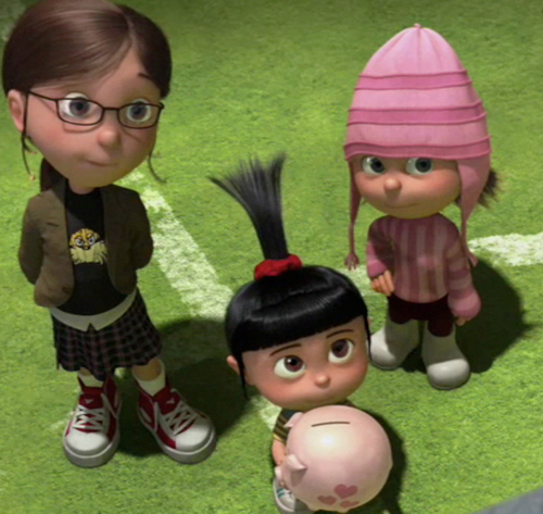 despicable me margo and agnes - photo #16