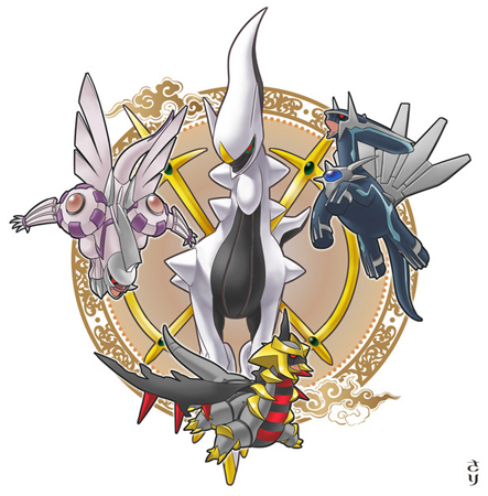 Is Kirby the most overpowered Nintendo character? - Page 3 ...Arceus Giratina Dialga Palkia