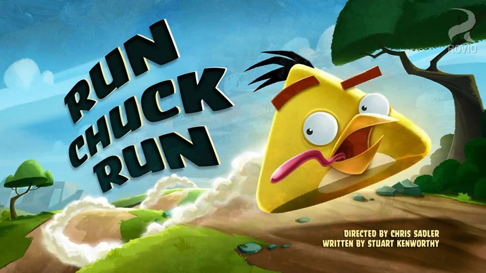 Angry Birds Go Chuck Run chuck run