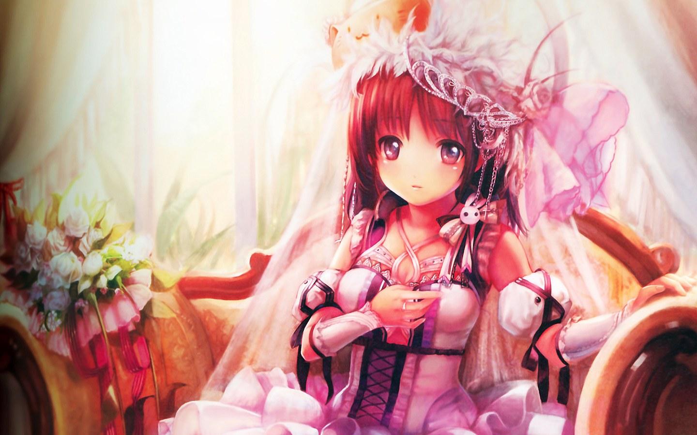 Imagen - Cute-red-hair-anime-girl 1440x900 71487.jpg ...